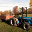 Lawn tractor — Stock Photo