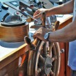Steering compass - Stockfoto
