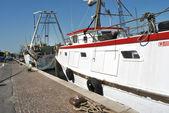 Port boats — Stock Photo
