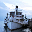 Stock Photo: Boat moored