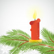 Royalty-Free Stock Imagem Vetorial: Candle