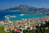 The city Zakynthos — Stock Photo