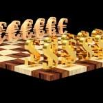3D chess — Stock Photo #4243992