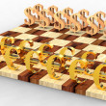 3D chess — Stock Photo #4243998