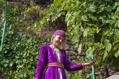 The girl in the Tatar national clothes — Stock Photo