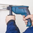 Electrical grinder — Stock Photo