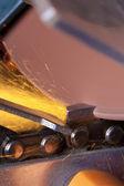 диск шлифовальный — Стоковое фото