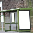 Bus Shelter — Stock Photo
