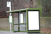 Bus Shelter — Stock Photo