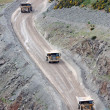 Stock Photo: Quarry Trucks