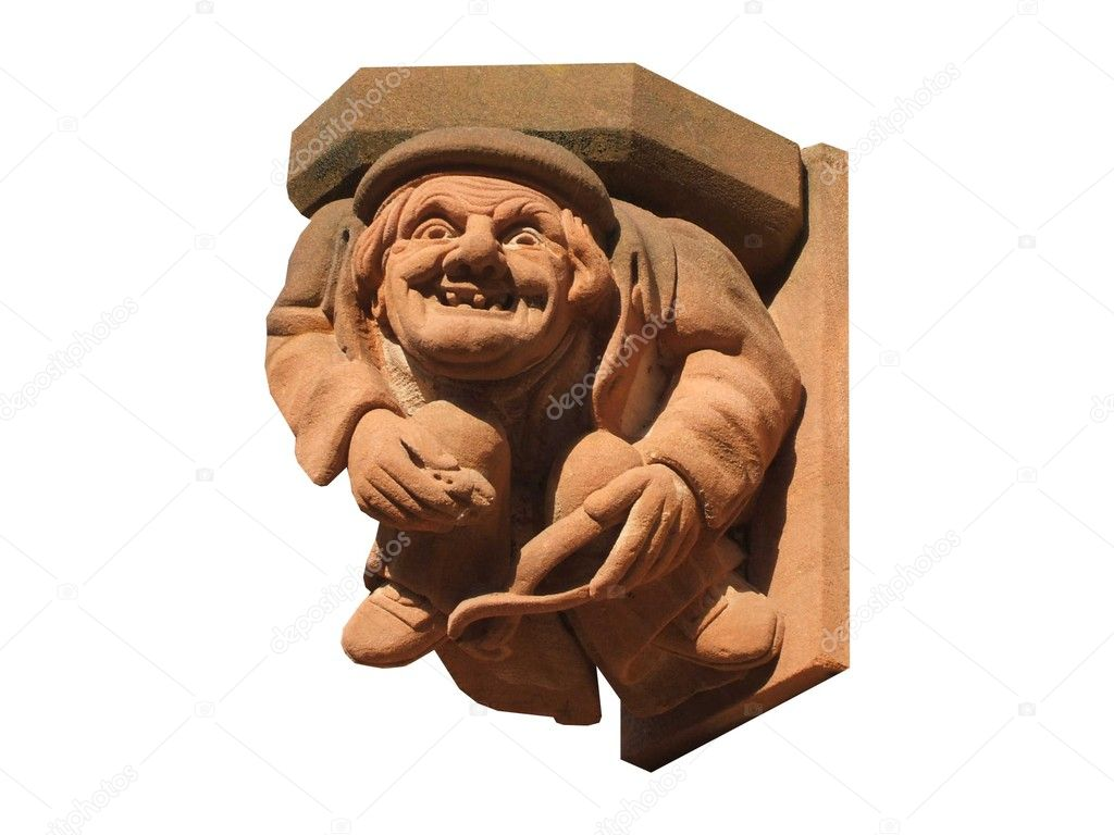 A Stone Gargoyle from an Ancient Abbey. — Stock Photo #5104639