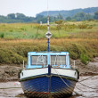 Stranded Boat. — Stock Photo
