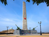 The memorial on mountain Mithridat, Kerch, Crimea, Ukraine — Stock Photo