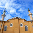 The old mosque and cloudy sky. Evpatoria. Ukraine — Stock Photo