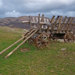 Стоковое фото: Old cart in mountains of Crimea
