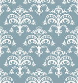 Seamless Baroque Pattern — Stock Vector