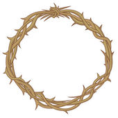 Crown of thorns — Vector de stock