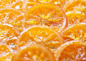 Candied orange slices — Stock Photo