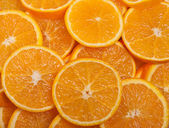 Pieces of orange — Stock Photo