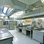 Professional kitchen — Stock Photo