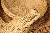 Natural handcrafted objects — Stock Photo
