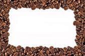 Káva rámec — Stock fotografie