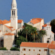 old city budva — Stock Photo