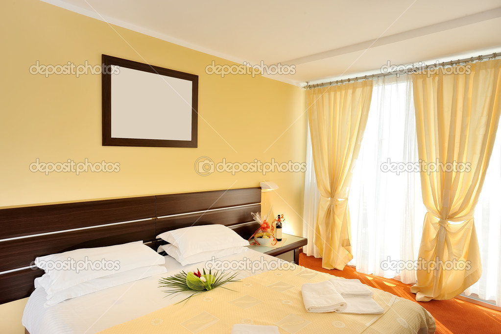 Hotel room interior prepare for guests  — Foto Stock #5001064