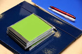 Office supply closeup — Stock Photo