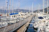 Marina in Mediterranean — Foto Stock