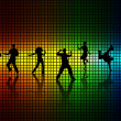 Royalty-Free Stock Vector Image: Dance a disco.