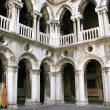 Doges Palace Inside, Venice — Stock Photo