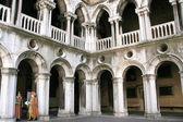 Doges sarayı içinde venedik — Stok fotoğraf