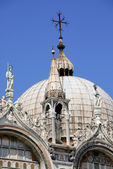 Dome Of Doges Palace, Venice — 图库照片