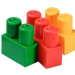 Toy Building Blocks — Stock Photo