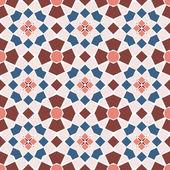 Vector seamless mosaic ornaments — Stock Vector