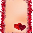 Valentine's Day greeting card — Stock Vector