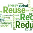 Reuse, Reduce, Recycle — Vettoriali Stock