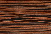 Ebony (wood texture) — Stock Photo