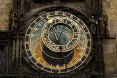 Astrological clock in Prague — Stock Photo