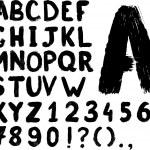 Grunge hand-written typeset — Stock Vector #5020623