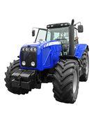 новый трактор — Стоковое фото