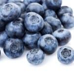 Blueberries on white — Stock Photo
