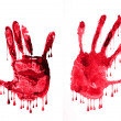 Bloody hands — Stock Photo