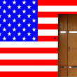 American entrance — Stock Photo