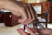 2 家の鍵 — ストック写真