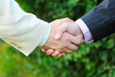 Handshake — Stock Photo