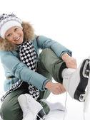 スケートの女の子 — ストック写真