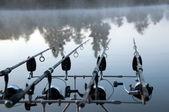 On fishing — Stock Photo