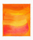 Abstract orange watercolor background — Stock Photo